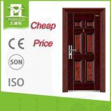 Safety Office Steel Security Door Standard Size Door Protection