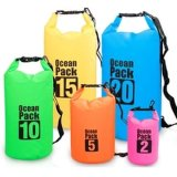 Waterproof Sport Dry Bag with Adjustable Shoulder Strap for Beach