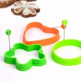 Food Grade Silicone Fried Egg Mould Ring Kitchen Egg Tools