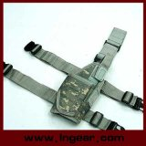 Military Airsoft Hunting Pistol Holster Tornado Universal Tactical Thigh Pistol Holster Right