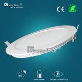 Best Price Aluminum12W Round Ultra Thin LED Panel Light