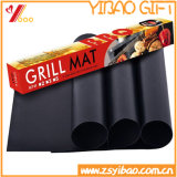 Standard Size FDA Silicone Black Mat for BBQ Baking