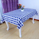 Grid Table Cloth for Hotel Restaurant Table Linen (DPF10321)