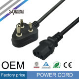 Sipu Best Price India Power Cord Plug 3pin Power Cable