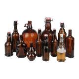 Wholesale 330ml 500ml 1000ml Amber Grolsch Swing Top Empty Clear Beer Bottle Price