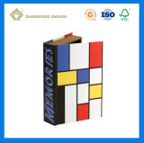 Custom Cardboard Decorative Book Shaped Boxes (guangzhou paperpackaging factory)