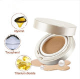 OEM Natural Naked Fashion Cosmetics Whitening Compact Powder Container for Air Cushion Bb Cream