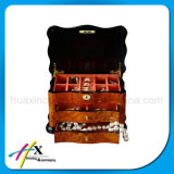 Customized Luxury Wooden Jewelry Box with Drawers