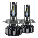 H4 Headlight Kit 50W 6000lm H1 H3 H7 H8 H9 H11 Hb3 Hb4 Fun LED Bulb Light Fog Light Drive Car LED (F6) Kit Lampada Alto Baixo 6000K CREE LED F2