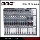 Bmg Professional Fx Series 6/8/12/16 Channels Sound Mixer Mixing Console with Double USB Access