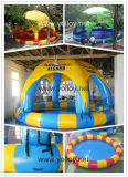 Inflatable Pool with Cover Tent Canopy