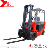 4-Wheel Counterbalanced Electric Forklift Truck with Side Shifts One Year Warranty 1-4.5 Meters 1-3.5ton