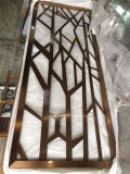 Foshan Stainless Steel Custom Fabrication Services Decorative Laser Cut Screen Wall Panel