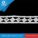 Chinese Factory Direct Comfortable Polyester Cord Lace Trim