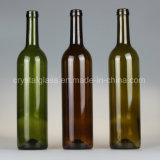Classic Dark Green 750ml Red Wine Glass Packing Bottles