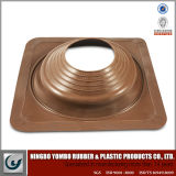 Square Base Rubber Silicon Roof Flashing for Pipe or Chimney