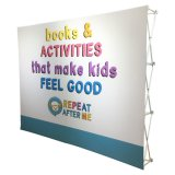 8' 10' High Quality Trade Show Equipment Tension Fabric Pop up Displays Pop up Display