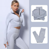 Wholesale Sale Seamless Yoga Suit Women′s Fitness Clothes Sportswear Yoga Wear Gym Wear