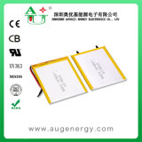 Rechargeable 377090 2100mAh Li-Polymer Battery Cell for Cell Phone