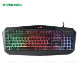 Gaming Keyboard, Gamer Keyboard for Computer, 19 Keys No Ghosting, with Win-Lock and Full-Lock, High Key Strucutre to Ensure Excellent Type Feeling