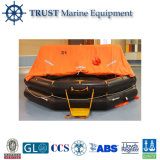 Cheap Marine Solas Approved Throw-Over Type Inflatable Life Raft Price