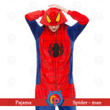 OEM ODM Hot Cartoon Hero Costumes Onesie for Kids and Adult