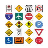 Customize Good Quality Low Price Road Traffic Sign