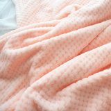 100% Polyester Solid Cuddle Fabric for Apparel