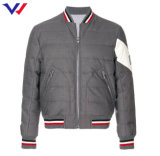 Customized Service Hot Sale Men Zipper-up Down Feather Jacket Winter Jacket Men Quilted Jacket