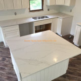Prefabricated Calacatta Quartz/Marble/Granite/Travertine/Stone Countertops for Kitchen Project/Construction/Building/Home Decoration