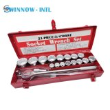 Professional Socket Wrench Tools Set Hand Tool with Iron Box
