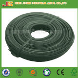 1.60mm X 10m Green PVC Coated Tie Wire, Plastic Coated Garden Wire