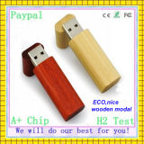 High Quality Cheap Eco Wooden USB Flash Drive (GC--001)