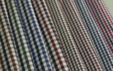 Various Checks Twill 60 Cotton 40 Polyester Fabric Shirting