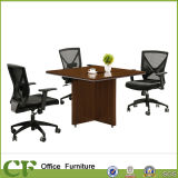 Square Small Wood MFC Tea Table for Office