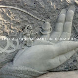 Marble Stone Carving Art Relief Sculpture for Wall Decoration