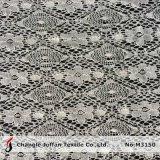 Cheap Nylon Cotton Lace Fabric by The Yard (M3150)