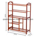 Bamboo Shoe Shelf Display Rack for Household