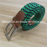 2018 Latest Pin Buckle Polyester Braided Belt