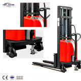 Factory Semi Electric Stacker Forklift Material Handling Equipment
