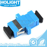 Sc to Sc Fiber Optic Adapter with Flange