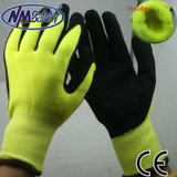 Nmsafety Acrylic Liner Coated Foam Nitrile Winter Work Gloves