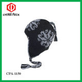 Braided Plaits Knitted Earwarmer Ski Hats (CPA-1150)
