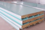 Decoration Steel Sheet PU Foam Sandwich Panel for Metal Building