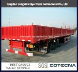 Flatbed Truck Trailer Long Vehicle with Side Wall Detachable