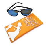 Promotion Gift Fabric Spring Automatic Closed Sunglass Soft Case