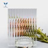 8mm Clear Pattern Decorative Tempered Moru Glass