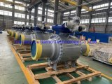 Chinese Manufacturer Oil&Gas Trunnion Ball Valve with Actuator