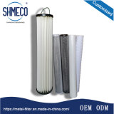 200 Micron Medication Chemical Industry Water Treatment Filter Element