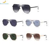 Latest Fashion Style Sunglass 2020 New High Quality Men Metal Stylish Sunglasses in Stock